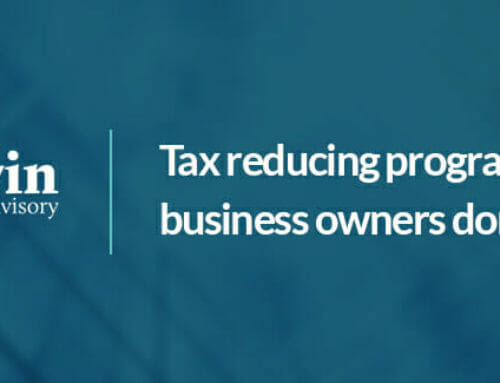 Tax reducing programs most business owners don't know about